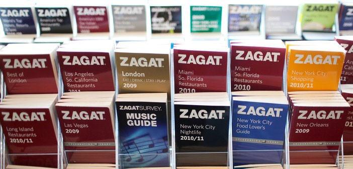 Nacida en 1979, Zagat es una editorial dedicada a la creación de guías de restaurantes en el ámbito estadounidense. Sus guías han sido el alfa y el omega para muchos aficionados al buen comer que, orientados por sus acertadas reseñas, podían encontrar con facilidad dónde llevarse un bocado apetitoso en cualquiera de las 70 ciudades analizadas.