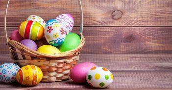 Colección de fotografías de monas y huevos de Pascua que recorren la red