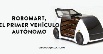 Robomart, el primer vehículo autónomo que te lleva la fruta y verdura allí donde estés