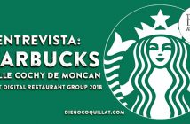 """Starbucks acompaña al cliente desde la dimensión digital"", ganadores The Best Digital Restaurant Group 2018"