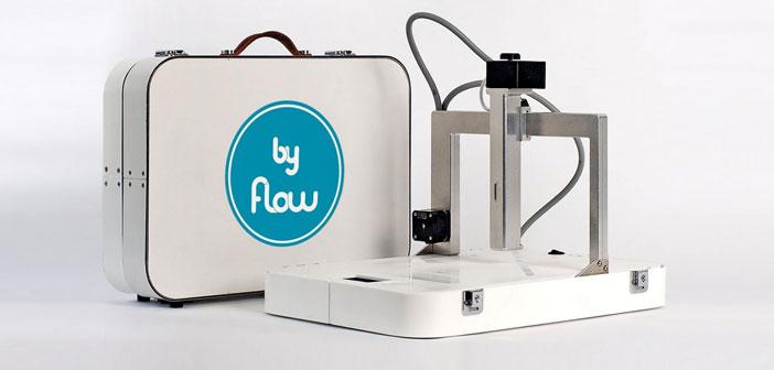 La Focus de Byflow ofrece una variedad de opciones avanzadas de FDM. Es una máquina que posee unas boquillas de extrusión especializadas y puede imprimir en diferentes y variados materiales, desde arcilla a productos o alimentos como el humus o el chocolate.