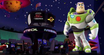 Disneyland París abre un versión real del Toy Story's Pizza Planet