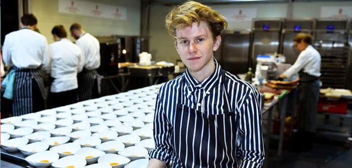 She is a teenager and worked with Daniel Humm. This was not a summer job for any high school kid. It was a unique opportunity that Flynn, who he dreamed of being a professional chef for two years, He did not miss. Humm was considered, by then, the best chef in the world.