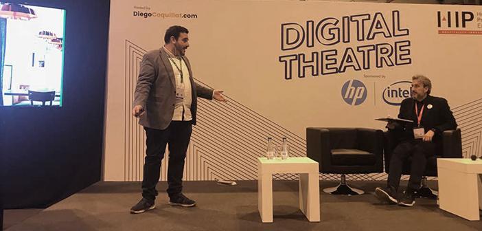 Dario Mendez a expliqué comment ElTenedor est devenu un allié des restaurants à améliorer sa gestion, alors qu'il participe à la #TeatroDigital qui a coordonné pendant @diegocoquillat # expohip2018.