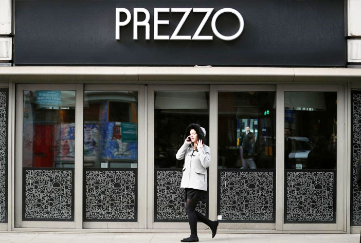 restaurants de franchise italienne Prezzo a annoncé la fermeture de 94 restaurants, le groupe de restaurants appartenant à la superstar culinaire Jaime Oliver prévoit également de fermer un tiers de ses magasins