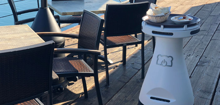 Penny is a robot bartender product technology company specializing in robotics and headquartered in Silicon Valley, BearRobotics.