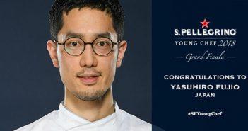 Te presentamos a Yasuhiro Fujio, el ganador del San Pellegrino Young Chef 2018