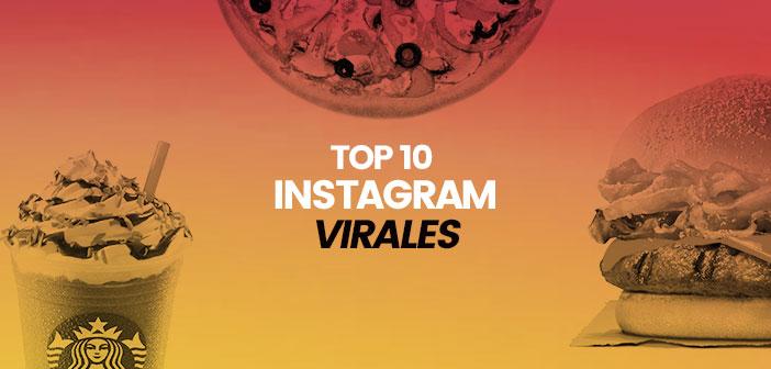 El Top 10 más viral en Instagram de las cadenas de hostelería
