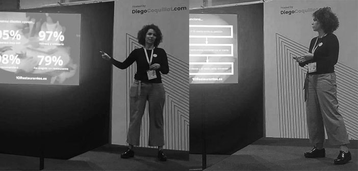 Paula Canepa, Director of Communications, who took part in the coordinated #teatrodigital by @diegocoquillat
