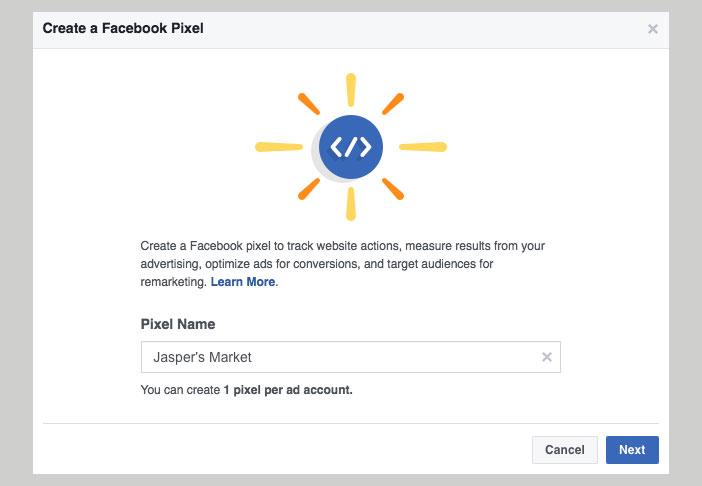 Bien qu'il puisse être complexe à mettre en place, Il est essentiel quand il s'agit de maximiser vos campagnes Facebook Ads. En plus de mesurer ce que les utilisateurs font sur votre site après avoir vu une de vos annonces, Il nous permet de créer des publics personnalisés avec les visiteurs pour afficher plus d'annonces dans l'avenir (remarketing)