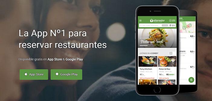 La app ElTenedor, que ya cuenta con 12 millones de descargas y a través de la cual se hacen ya el 70% de las reservas de la plataforma, es la forma más sencilla de encontrar el local perfecto para cada ocasión, consultando su disponibilidad en tiempo real y reservando en pocos segundos.