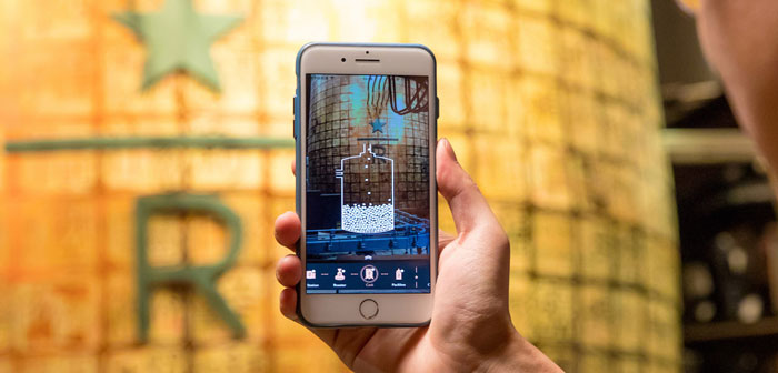 Starbucks is another famous franchise that will not stay behind for the implementation of virtual reality refers. Reserve your local Roasterie Shanghai has a virtual downloadable application that offers an informative augmented reality experience.