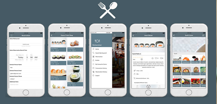 Templates apps for restaurants