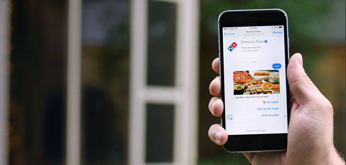 Domino's is one of those franchises that can not afford to wait to see what happens with pilot projects competition. More than 5.600 establishments in the US alone, the company has embarked on a technological adventure that seek to test automated phone calls attention. The new systems have already been installed in 20 US establishments.
