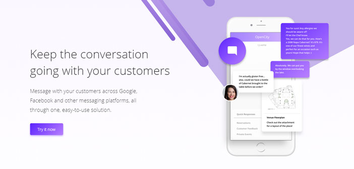 El director ejecutivo de la firma digital OpenCity, Nick Belsito, lo tiene muy claro: «Nadie quiere hablar por teléfono. El 99 por ciento de los clientes desea enviar un mensaje de texto. Si estás en una oficina puede que no quieras que te escuchen a hurtadillas. Si estás en el metro, no puedes tener una conversación. Lo que quieres realmente es mandar un mensaje de texto», concluye contundentemente.