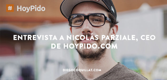 Interview / chat with Nicolas Parziale, CEO de HoyPido.com, the first project that allows order delivery through a chatbot, or as they call the first restaurant in the cloud.