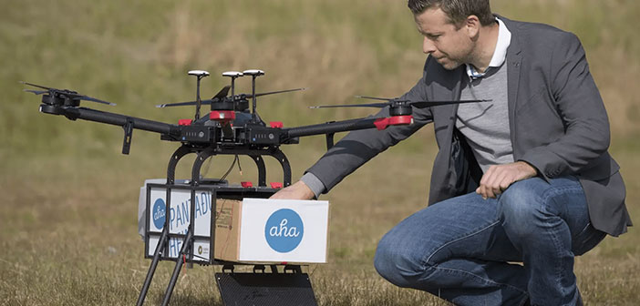 Yariv Bash, CEO of the company, seeks to expand the market in which they are present. After enjoying a resounding success by establishing a network of home delivery of food for drone in Reykjavik (Iceland) covering half of the capital set their sights on the plains of North Dakota.