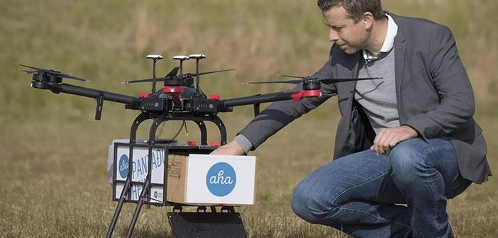 Yariv Bash, PDG de la société, cherche à élargir le marché dans lequel ils sont présents. Après avoir dégusté un succès retentissant en créant un réseau de livraison à domicile de nourriture pour drone à Reykjavik (Islande) couvrant la moitié du capital jeté leur dévolu sur les plaines du Dakota du Nord.