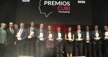 FACYRE otorga los Premios Cubi Excelencia Gastronómica 2018