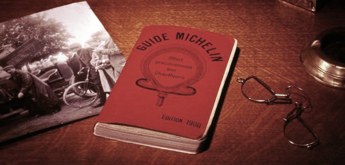 Michelin began as a directory of restaurants and help travelers, over time, a job well done and an excellent marketing strategy for many years which is the international benchmark for haute cuisine and makes.