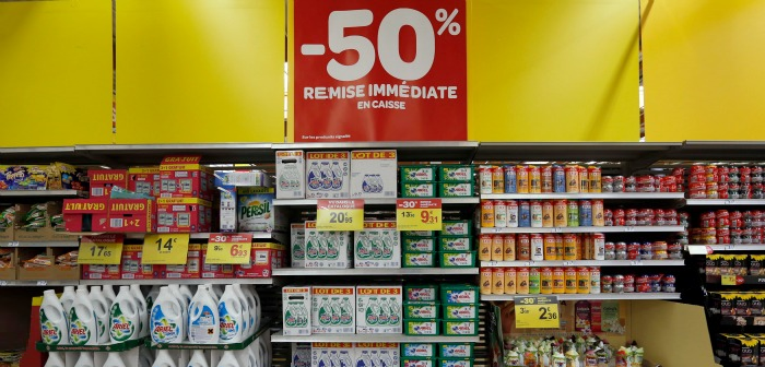 In February 2016 France became the first country to impose donating leftover food to supermarkets by law.