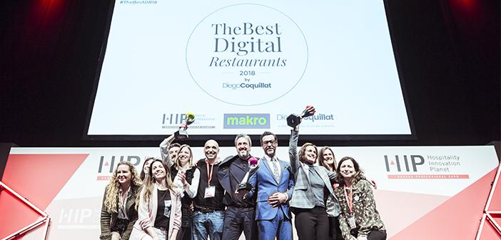 Quique Dacosta, Starbucks et Silk restaurant et Soya remportent le premier prix pour TheBestDigitalRestaurants de gestion numérique 2018