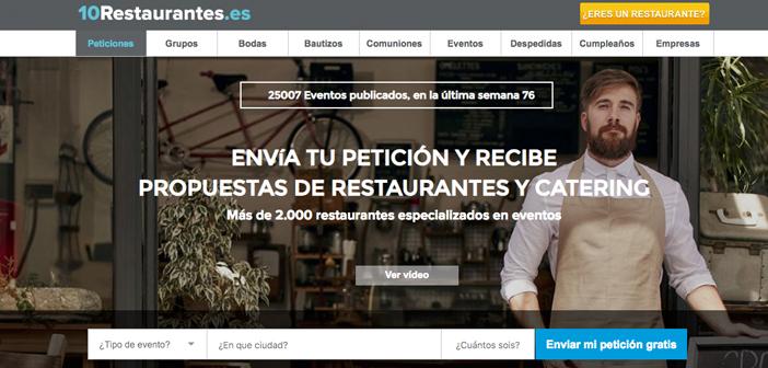 ¿Estás buscando un restaurante para un grupo? Encuentra tu restaurante para grupo de una forma diferente, envía tu petición y recibe propuestas de restaurantes…más de 50.000 clientes ya lo han utilizado...…fácil,rápido y gratis!