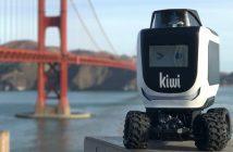 KiwiBot, el simpático robot autónomo que ya ha entregado 10.000 pedidos de comida a domicilio