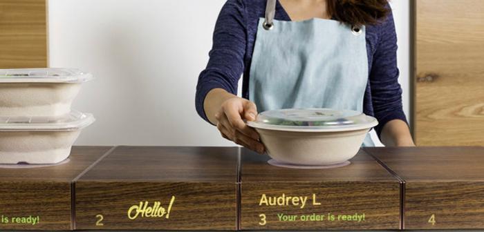 Muebles inteligentes para adaptar los restaurantes al incremento de los pedidos de comida a domicilio