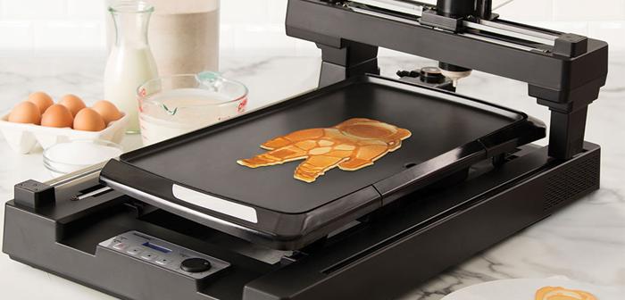 Si la creación de tortitas artísticas mediante impresoras 3D de alimentos ya era una posibilidad, ¿por qué no íbamos a automatizar el arte del latte?